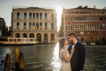 Plener ślubny – Wenecja – Fotografia ślubna