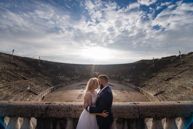Plener ślubny – Werona – Fotografia ślubna