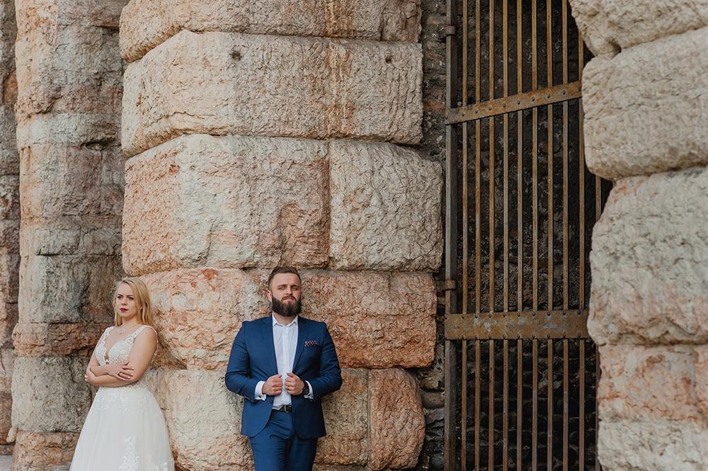 Plener ślubny Werona